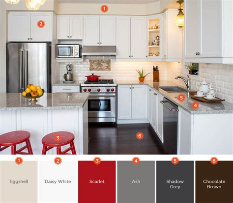 kitchen color palette 20 enticing kitchen color schemes shutterfly