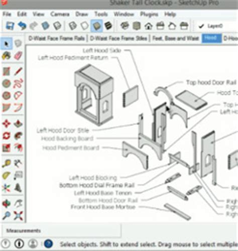 google sketchup woodworking dovetails tutorial how to navigate sketchup woodworking models