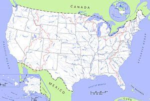 list of rivers of the united states