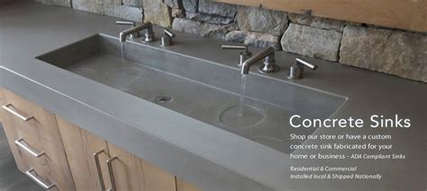 Ada Kitchen Cabinets Trueform Concrete Custom Tables Sinks Counters