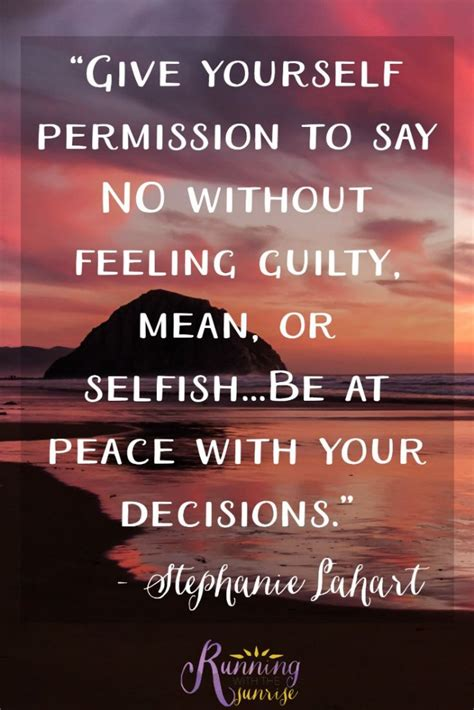 Feeling Guilty No More by Learn To Say No Selfish Peace And Inspirational