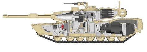 Abrams Tank Interior by