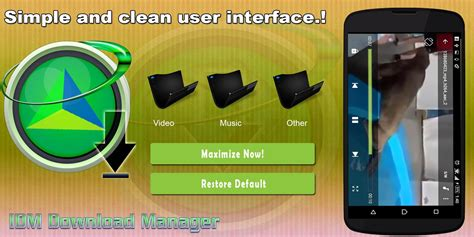 modded android idm manager mod unlimited android apk mods