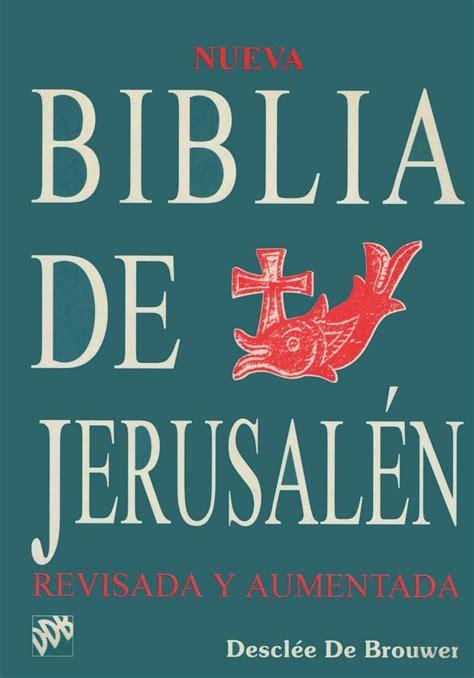 biblia de jerusaln de biblia de jerusalen