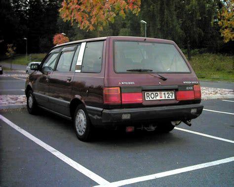 mitsubishi wagon mitsubishi space wagon 16v glxi 1991