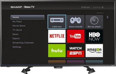 Tv Sharp Led 43 best buy sharp 43 inch roku tv 179 99