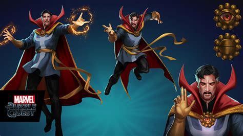Dr Marvell doctor strange casts a spell on marvel mobile