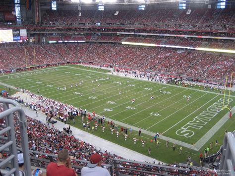 glendale az section 8 university of phoenix stadium section 405 arizona