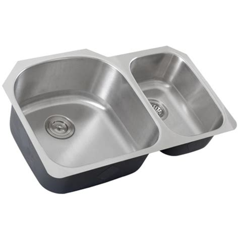 Ticor S105d Undermount Stainless Steel Double Bowl Kitchen Ticor Kitchen Sinks