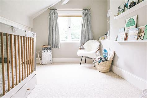 modern stylish unisex baby nursery   neutral grey