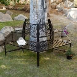 metal tree bench coral coast scrollback metal tree surround bench outdoor