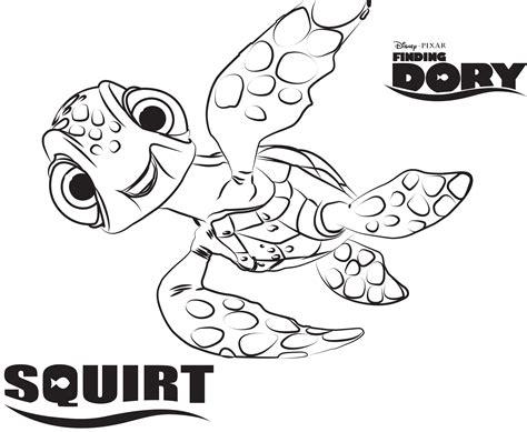 dory fish coloring page procurando nemo tartaruga desenhos para colorir