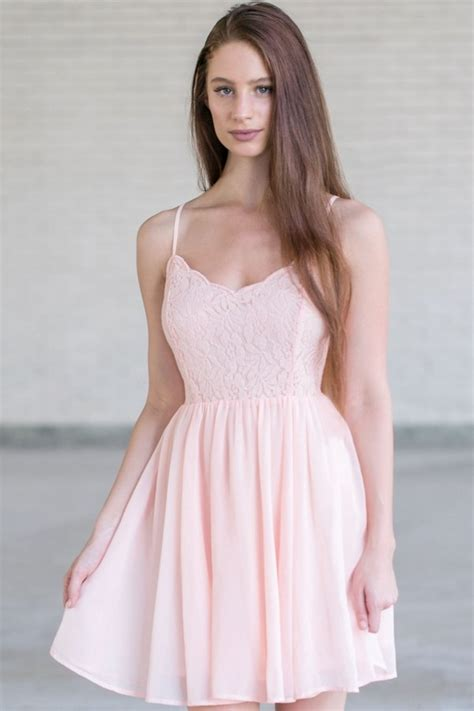 Beautiful Pink Dress pink lace dress pink dress pink summer dress