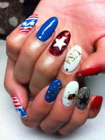 pictures fourth of july nail art and toe nail designs