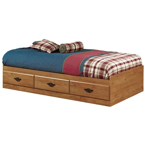 twin storage bed south shore prairie mates twin platform bed kids storage