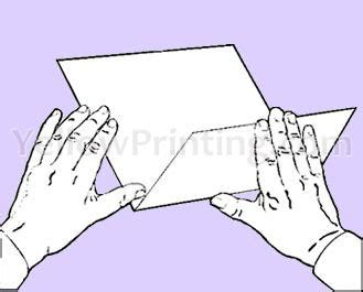 How To Fold A Sheet Of Paper Into A - how many times you can fold one sheet of paper in half
