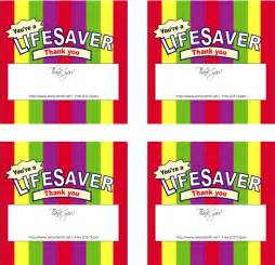 mormon share life savers wrappers thank you