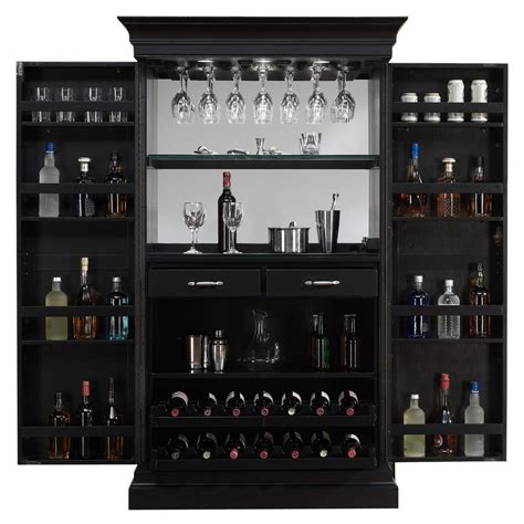 home bar and wine cabinets american heights black stain home bar wine
