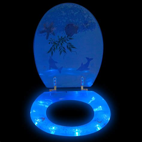lighted toilet seat cover led toilet cover 3d lavatory seat toilet seat toilet seat