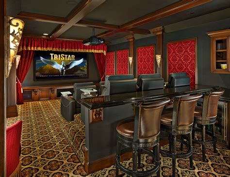 home theater design group dallas arcady media room home theater traditional home