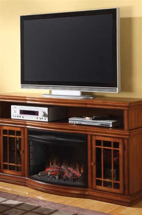 Best Electric Fireplace 2017 Review Compare Cyber Electric Fireplace Heater Tv Stand