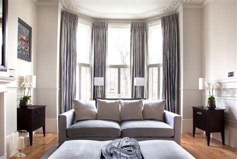 how to dress a large window cochrane design victorian villa clapham victorian