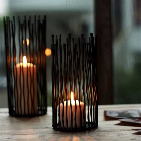 Candle Holders For Dining Table Fashion Modern Wrought Iron Dining Table Mousse Decoration Wedding Props Floor Candle