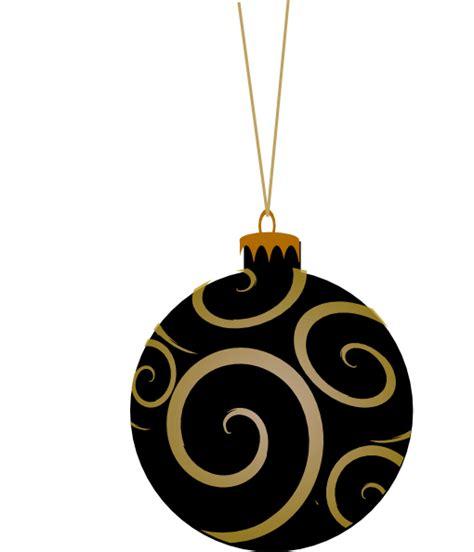 black metallic ornament clip art  clkercom vector