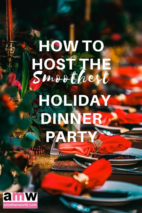 how to host a dinner how to host the smoothest dinner amotherworld