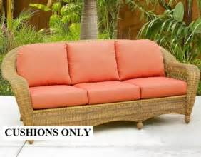 Patio Chair Slipcovers Wicker Cushions Wicker Furniture Replacement Cushions