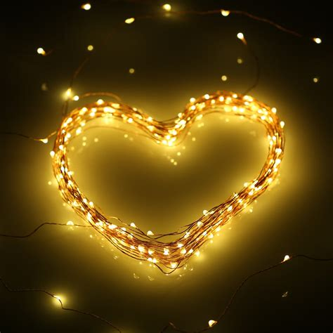 15m 50ft 150 leds outdoor copper string wire lights