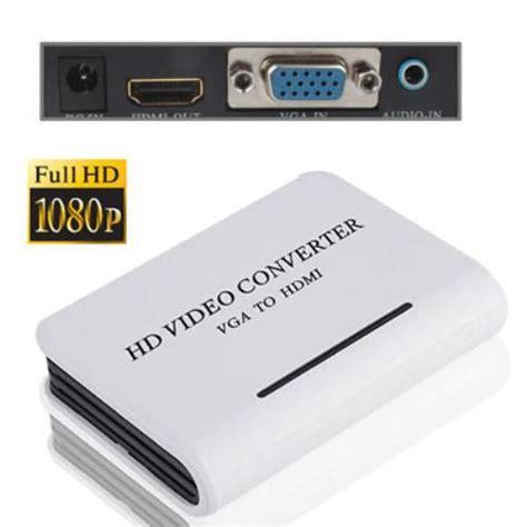 ingresso hdmi pc convertitore di segnale da uscita vga a entrata hdmi da pc