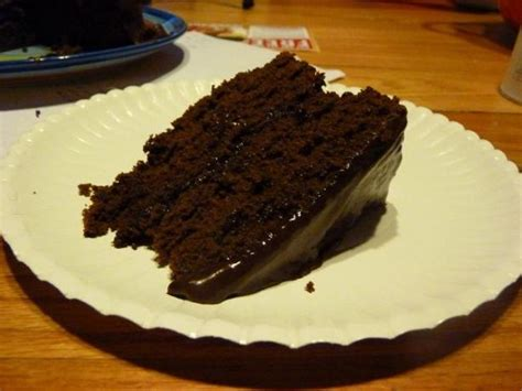 really chocolate chocolate cake with chocolate fudge frosting recipe