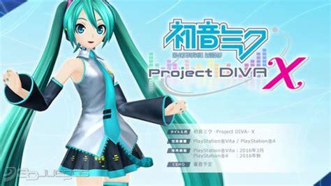Ps4 Hatsune Miku Project X hatsune miku project x para ps4 3djuegos