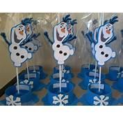 Enfeite De Mesa Olaf Frozen  R$ 399 Em Mercado Livre