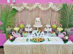 hawaiian themed decorations ideas kara s ideas hawaiian birthday planning ideas