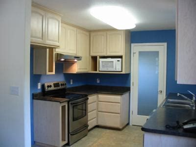 kitchens with blue walls my fantasy home blue accent kitchen painting idea cobalt blue color on the walls