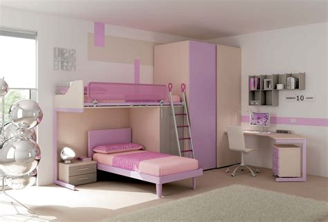 chambre gar輟n ado chambre enfant lits superpos 233 s ton pastel