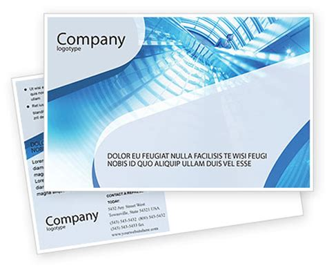 microsoft office postcard templates office building postcard template in microsoft word