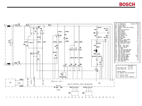 bosch washing machine circuit diagram circuit and