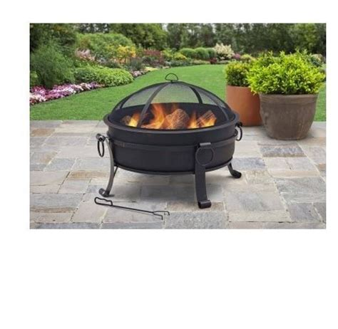 portable fire pit patio firepit outdoor wood heater yard