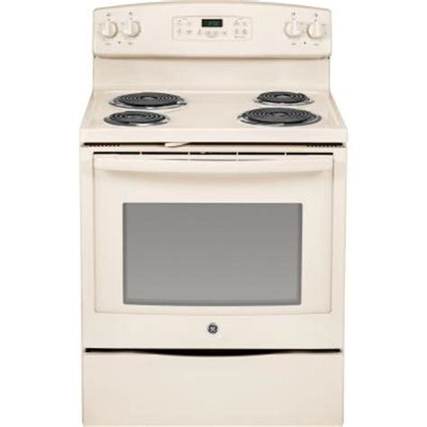 ge 5 3 cu ft electric range with self cleaning oven in