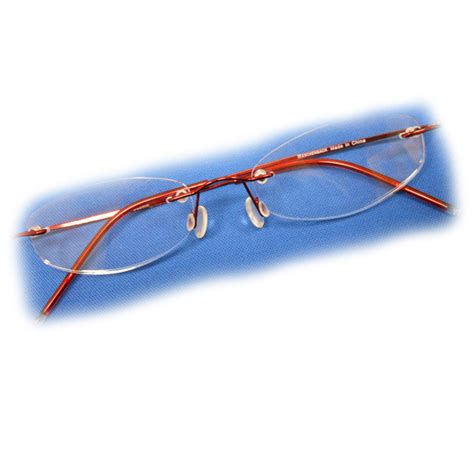 2 diopter eschenbach rimless reading glasses oval