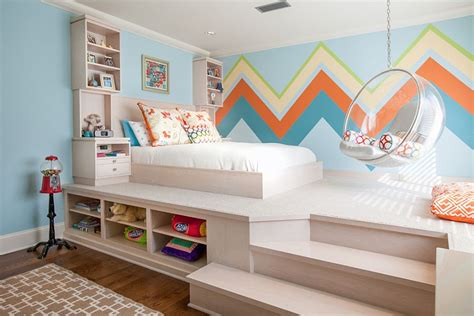 Incroyable Chambre Ado Fille 17 Ans #8: Small-kids-bedroom-makes-perfect-use-of-available-space.jpg