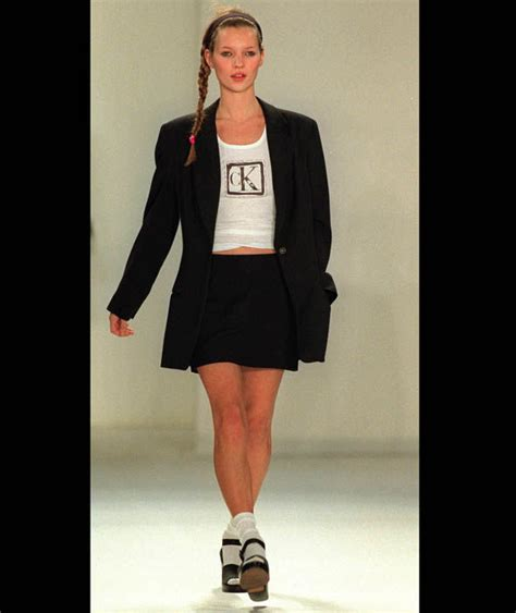 Catwalk Year In Fashion May 2007 Kate Moss For Topshop Marc For Rehab Met Gala And We Remember by Kate Moss Graced The Catwalk In The Early 90s For Calvin