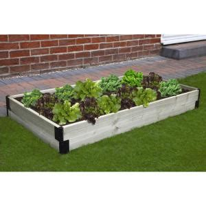 bosmere raised garden bed connection kit   home depot