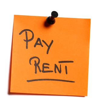 Apartment Services One Time Payment Paying Rent New Year Home Property