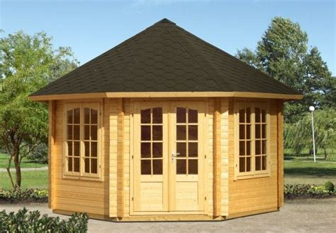 Gartenpavillon Rund Holz