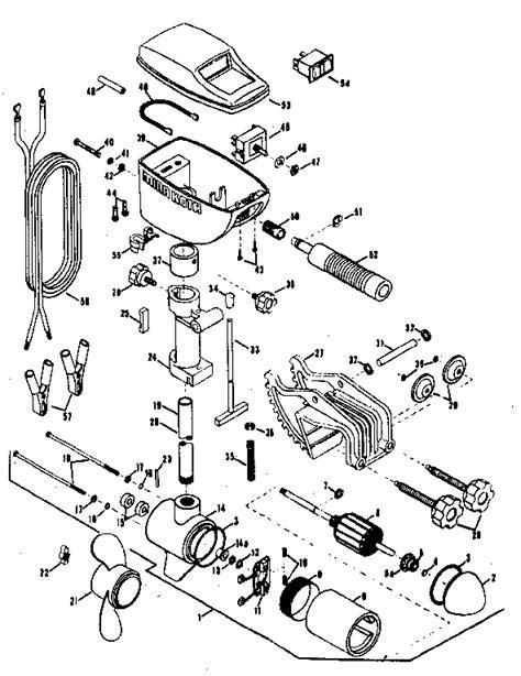 electric trolling motor wattage minn kota electric fishing motor parts model 35w sears