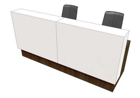 Reception Desk Materials E Voke Reception Desks
